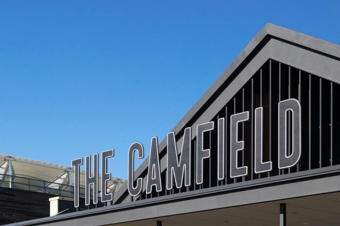 The Camfield Open For Business