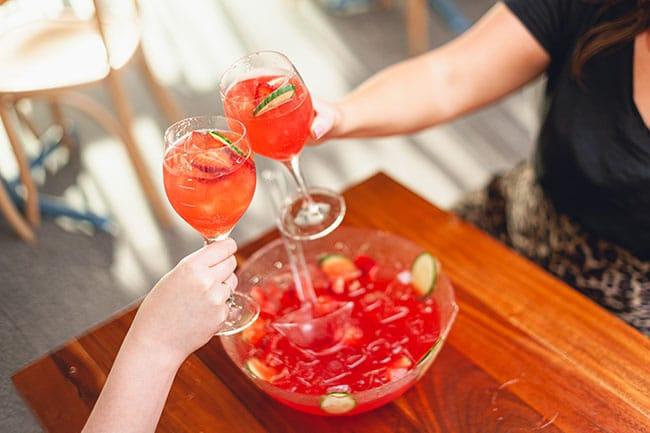 Scarborough Beach Bar - Big Sipper Punch Bowl - Summer Cocktail