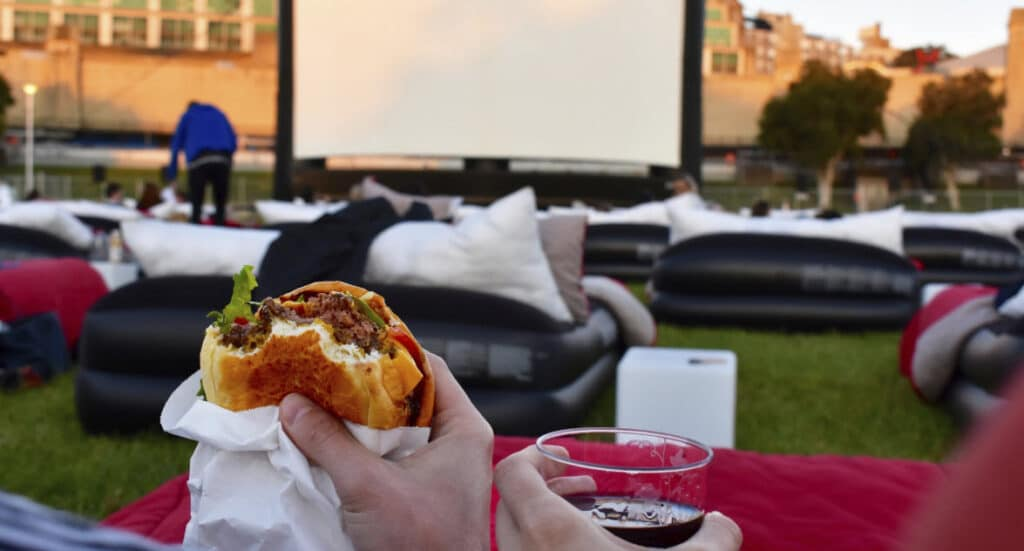 Perth's Outdoor Bed Cinema: 4 Days Left To Get Mov'in