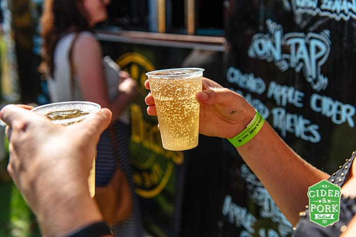 Enjoy WA's best ciders at Cider and Pork Festival