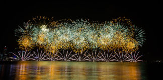 best spots to see Perth Skyworks Firework event Australia Day