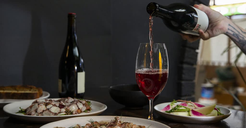 New Wine Bar In Northbridge: Northbirdge Dining Room and Wine Store