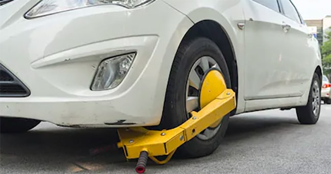 wheel clamping ban perth