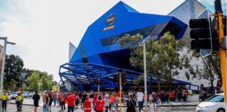 NBL Finals - Perth Wildcats play empty stadium