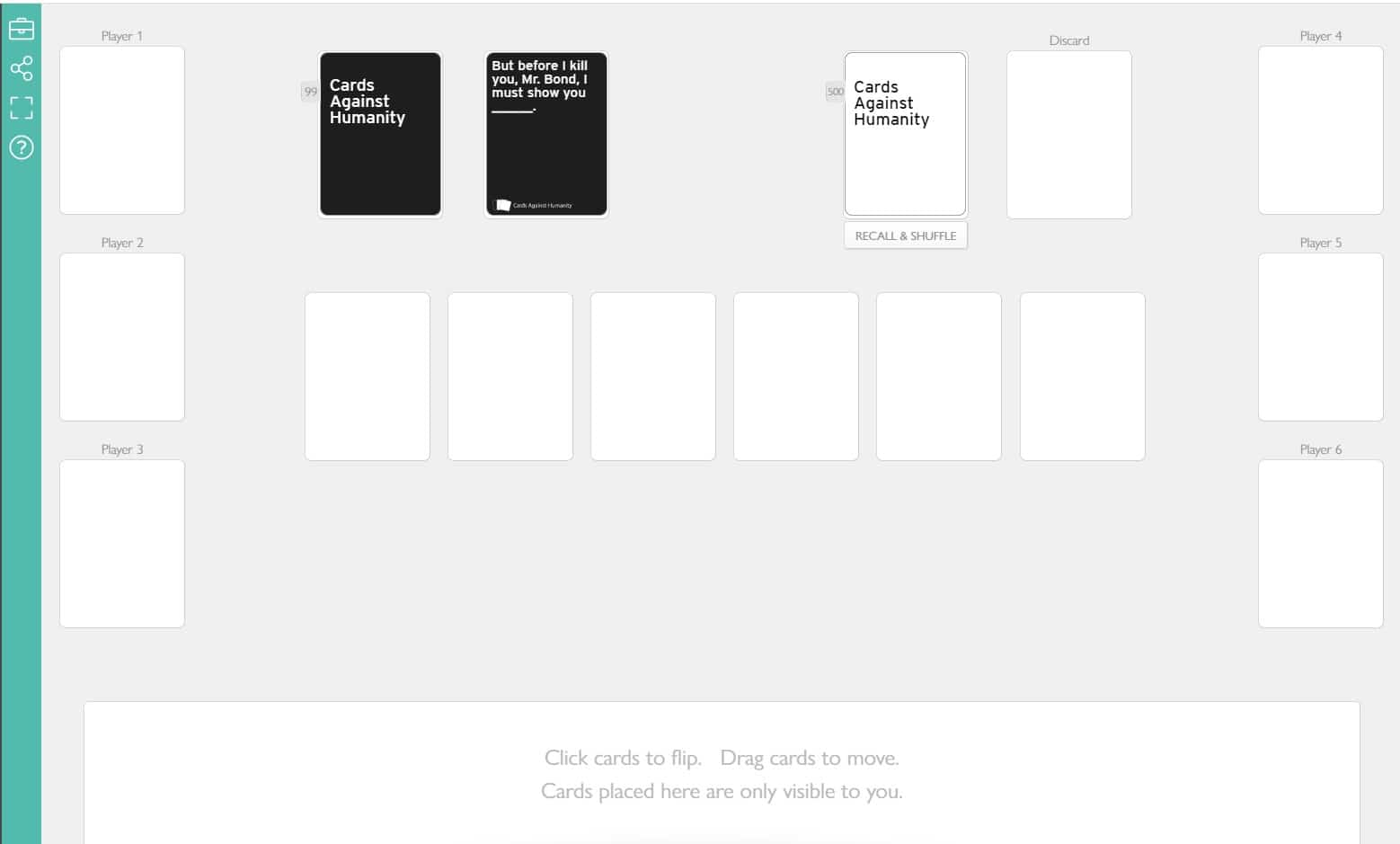 ISO Activities: Play Cards Against Humanity Online