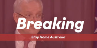 Breaking News - Stay Home Australia