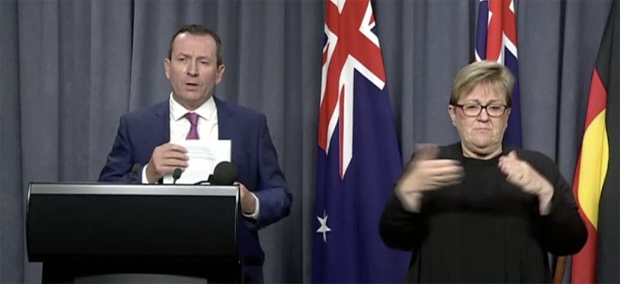 Mark McGowan hints futher stimulus packages for WA