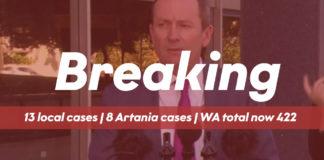 Breaking News - Mark McGowan WA Total 422