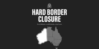hard border closure WA