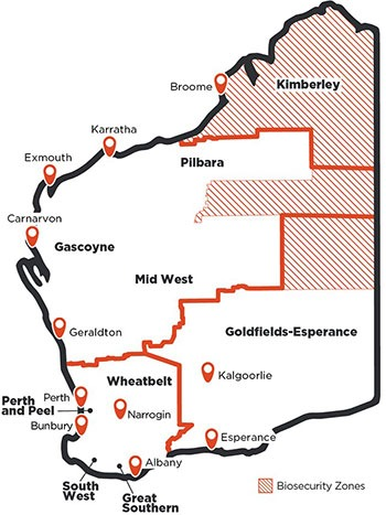 New travel boundaries for WA - COVID-19 Restrictions