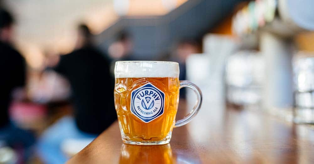 In celebration of the reopening, and the return of after work beers in the city, Market Grounds will be shouting free pints of Furphy until the kegs run dry.