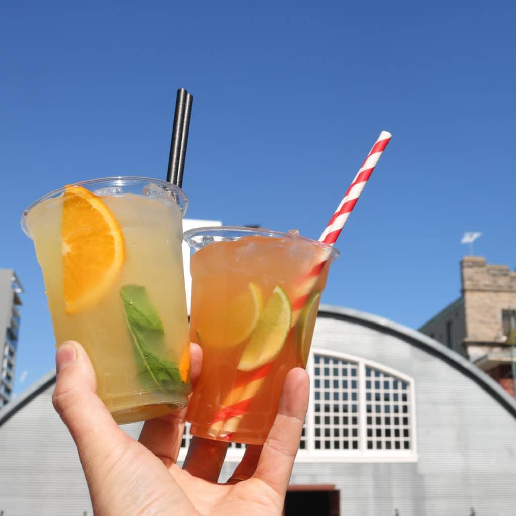 Goon & Nugz festival drinks