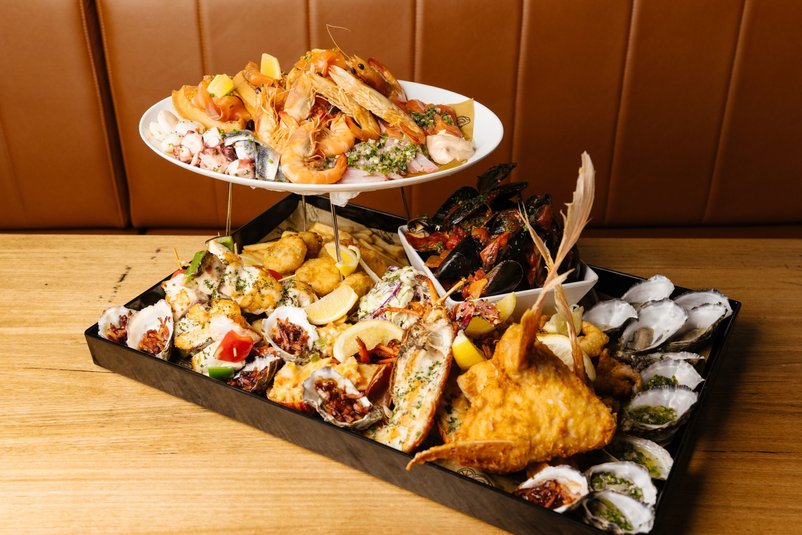 Is This Crazy Feast The Biggest Seafood Platter in Perth?