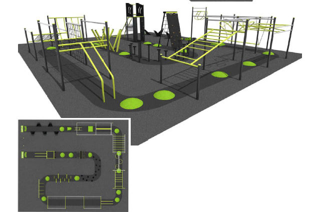 whitfords nodes- warrior obstacle course