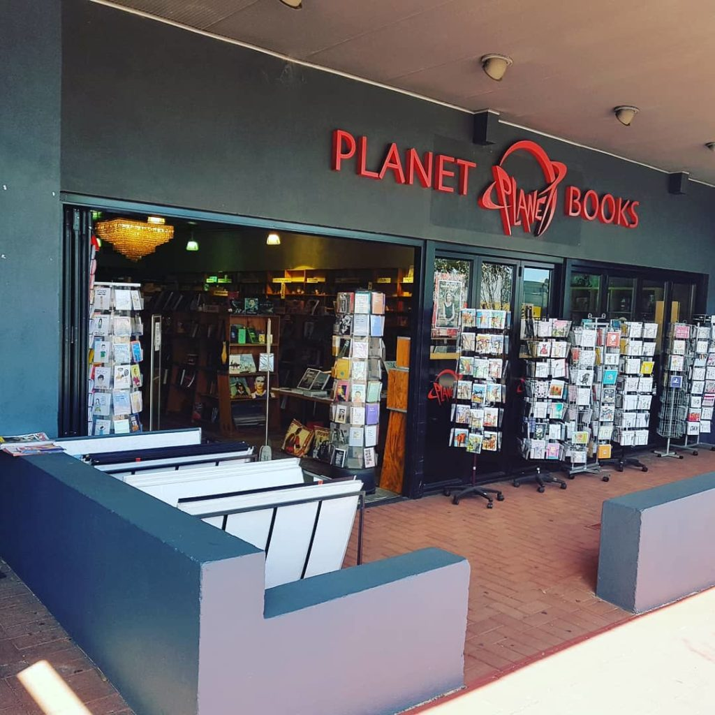 planet books- best bookstores in perth
